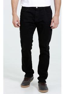 Calça Masculina Em Sarja Com Bolsos Marisa