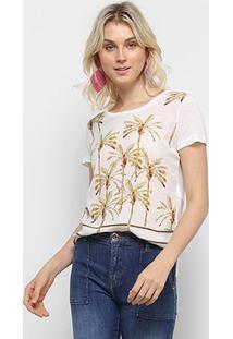 Camiseta Acostamento Resort Feminina - Feminino-Rosa