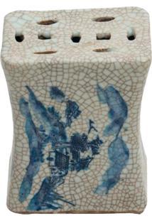 Castiçal De Porcelana Dalle