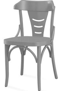 Cadeira Para Sala Augustine Laca Cinza Concreto - 45X50,5X83 Cm