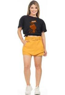 Camiseta Estampada Feminina - Feminino