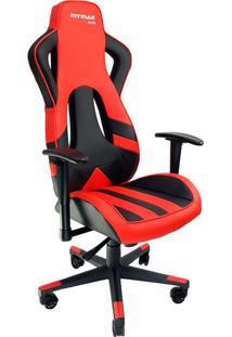 Cadeira Gamer Mx Eleven Vermelha E Preta
