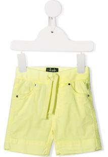 Il Gufo Drawstring Waist Shorts - Amarelo