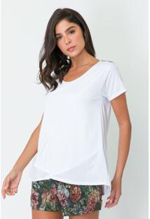 T-Shirt Basic Lanã§A Perfume Tshirt Branco - Branco - Feminino - Dafiti