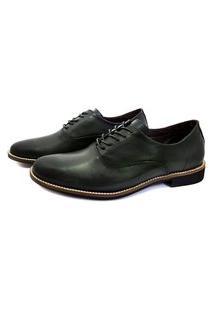 Sapato Social Inglês Couro Avalon Stone Cinza