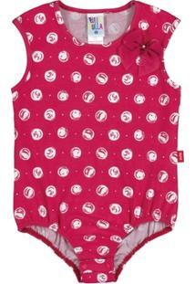 Body Infantil Pulla Bulla Cotton Feminino - Feminino