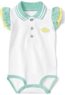 Body Branco Bebê Menina