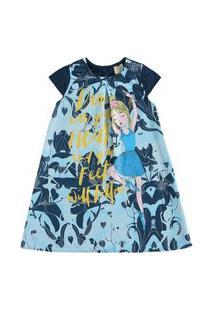 Vestido Infantil Cotton Tecido Maquinetado Sublimado Glinny-8