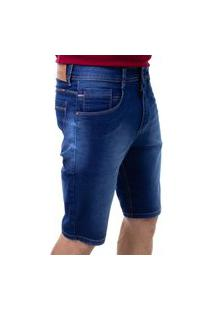 Bermuda Confort Jeans Masculina Crocker - 48225