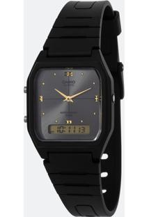 Relógio Unissex Casio Aw-48He-8Avdf-Br Analógio/Digital 5Atm