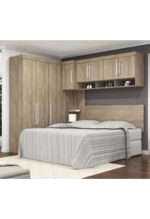 Dormitório Modulado Modena 8 Portas E 2 Gavetas Em Mdp