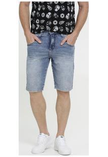 Bermuda Masculina Jeans Stretch Biotipo
