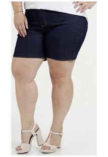 5a3790d2e Bermuda Feminina Jeans Cintura Alta Plus Size Marisa
