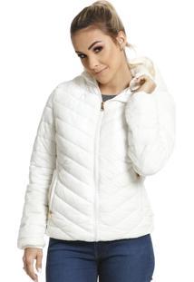 Jaqueta Diferenciada Proteção Térmica Branca Vlcs