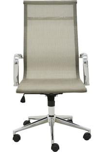 Cadeira De Escritório Alta Tela Sevilha-Rivatti - Dourado