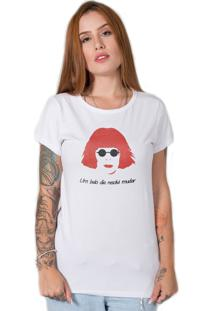Camiseta Stoned Rita Lee Branca