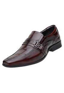 Sapato Social Venetto Verniz Vinho