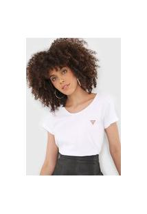 Camiseta Guess Lisa Branca