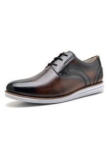 Sapato Social Sandro Moscoloni Merkd Marrom Escuro