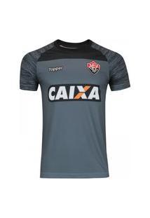 Camisa Vitória De Treino Comissáo Técnica 2018 Cinza 4201635-924
