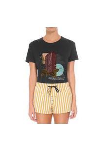 Camiseta Forseti Confort Jk Preta