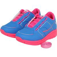 ac3a4abed Tênis Para Meninas Azul Odin Rosa infantil | Shoes4you