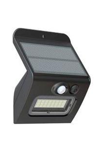 Arandela Solar Com Sensor De Movimento Abs Em Plástico - Ecoforce