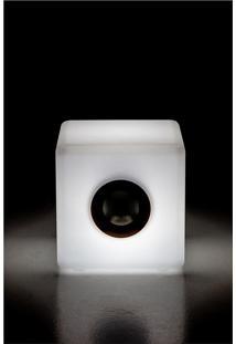 Luminaria Banco/Cubo 2 M/The Lamp White Cubo Wi-F - 30X30X30