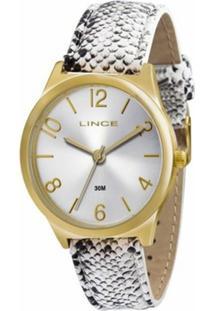 7dfef140713 Kit Relógio Feminino Lince Analógico Lrc4301L K107 - Unissex
