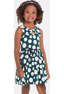 Vestido Infantil Milon Cotton 11740.70152.1