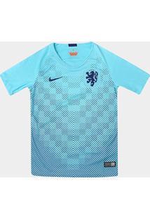 Camisa Seleção Holanda Infantil Away 2018 S/N° Torcedor Nike - Masculino