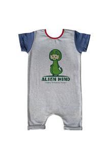 Pijama Curto Comfy Alien Mind