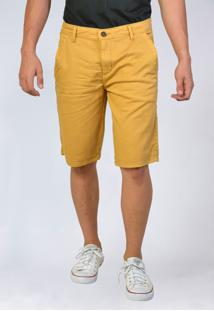 Bermuda Jeans Sarja Yck'S Amarela - Kanui