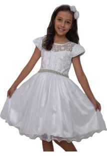 Vestido Marie Festa Branco