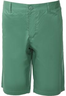 Bermuda Colcci Chino Color Verde - Kanui