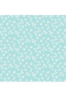 Papel De Parede Adesivo Florzinha Branca (0,58M X 2,50M)