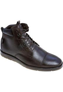 Bota Sandalo Pagani Brown Masculina - Masculino-Café
