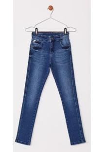 Calça Jeans Express Infantil Zack - Masculino-Azul