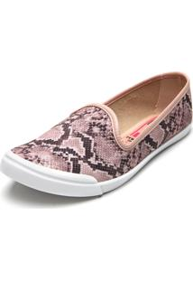 Slipper Moleca Cobra Rosa