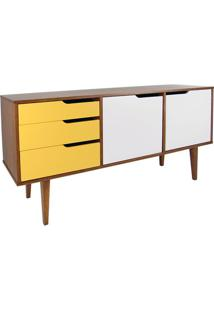 Buffet Strauss Amendoa 3 Gav 2 Port Branco C/Amarelo -19700 - Sun House