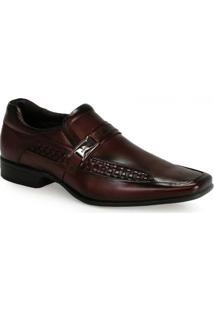 Sapato Social Conforto Masculino Rafarillo Vinho