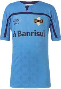 Camisa Infantil Umbro Gremio Of 3 Azul - 12