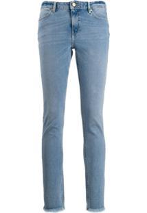 Escada Sport Calça Jeans Skinny - Azul