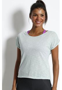 Blusa Flam㪠Lisa - Azul Claro - Physical Fitnessphysical Fitness