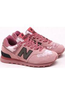 Tênis New Balance 574 Rosa Feminino