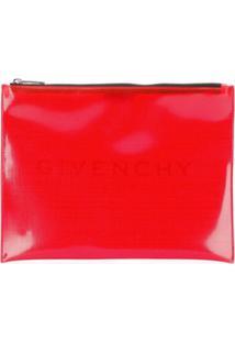Givenchy Clutch De Pvc - Vermelho