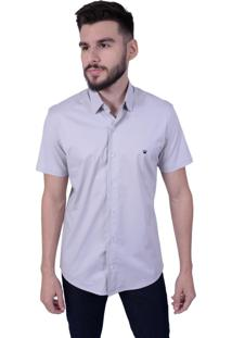 Camisa Off Wear Básica Cinza