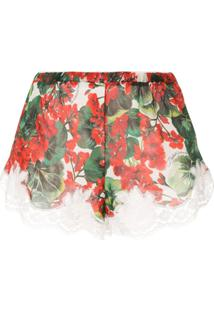 Dolce & Gabbana Underwear Short De Pijama Estampado - Vermelho