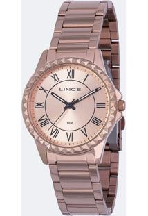 Relógio Feminino Lince Lrr4561L R3Rx Analógico 5Atm
