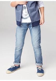 Calça Jeans Infantil Menino Play Jeans Hering Kids